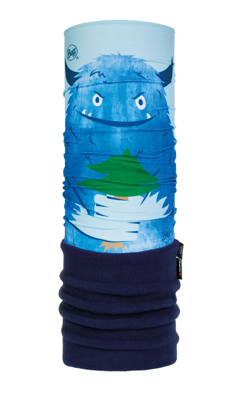 Шарф-труба трансформер детский Buff Snow Monster Blue