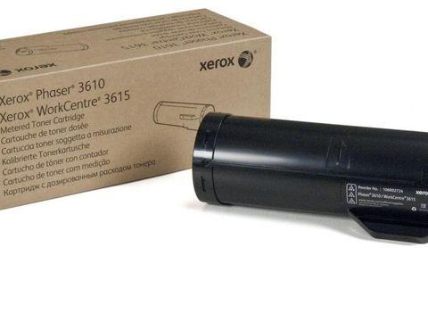 Тонер-картридж повышенной емкости Xerox 106R02732 для Xerox Phaser 3610/WorkCentre 3615. Ресурс 25300 страниц.