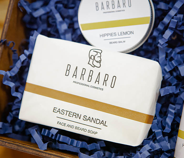Подарочный набор Barbaro «Hippies Lemon» для ухода за бородой фото 03