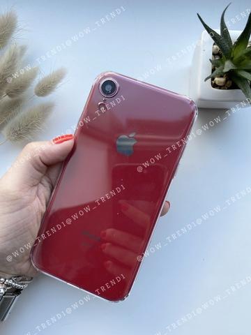 Чехол iPhone XR Simple silicone /transparent/ 444