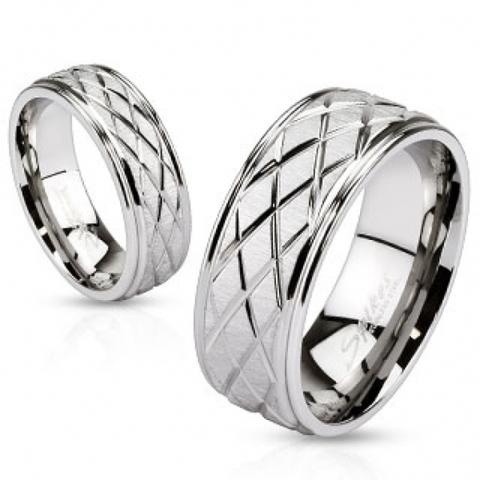 Кольца мужские и женские SPIKES R-M2621