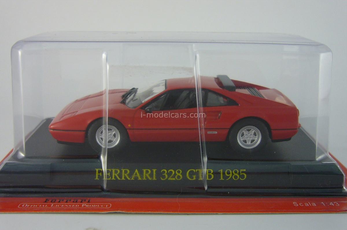 Ferrari 328 GTB red 1:43 Eaglemoss Ferrari Collection #39