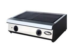 Настольная 2-х конфорочная плита Ф2ЖТЛпэ, 680x480x240, ( 6 кВт, 2 переключателя 4 позиции, 220/380 )