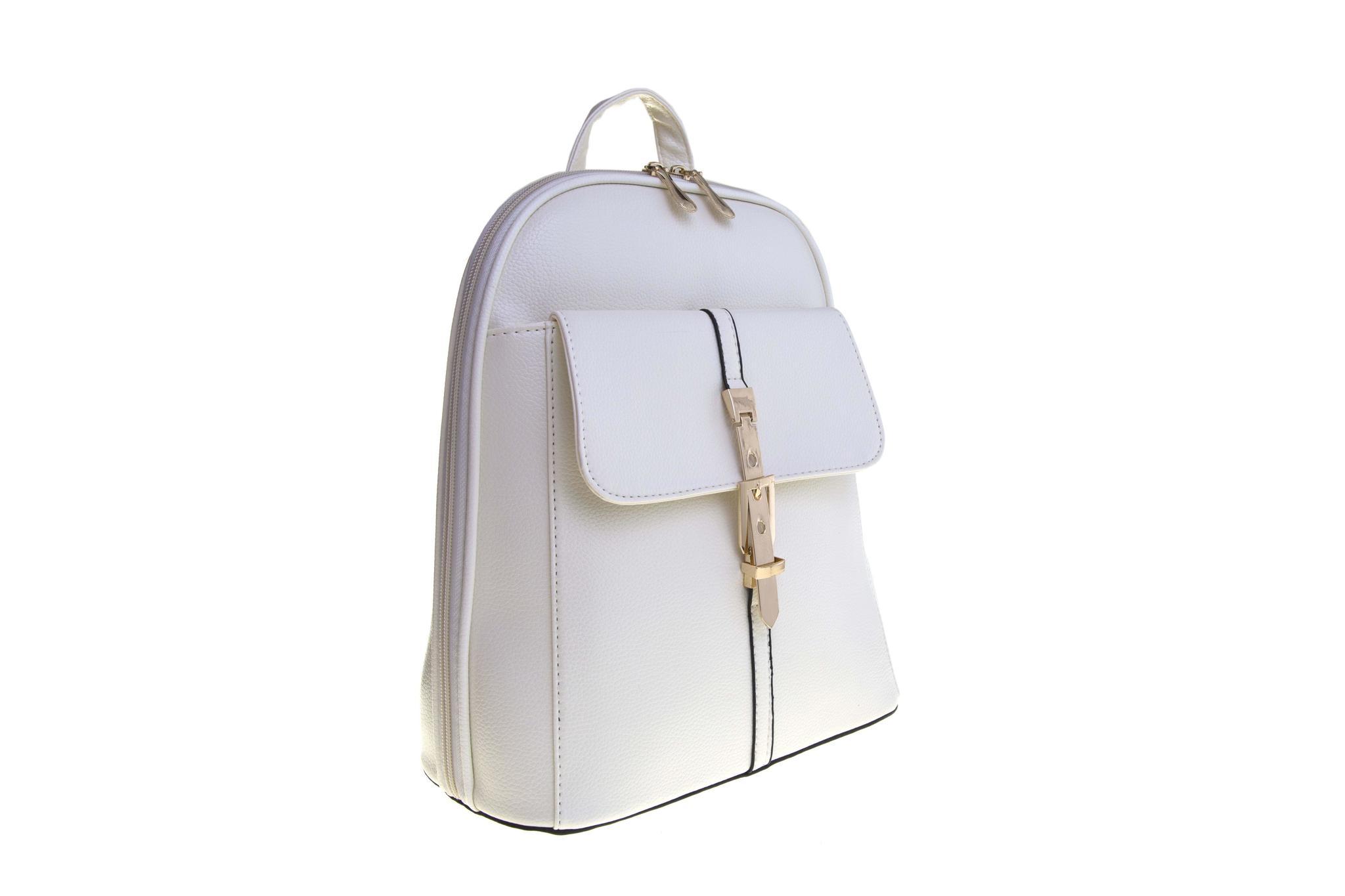 Женский рюкзак 6588 White