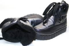 Стильные зимние ботинки женские Kluchini 13047
