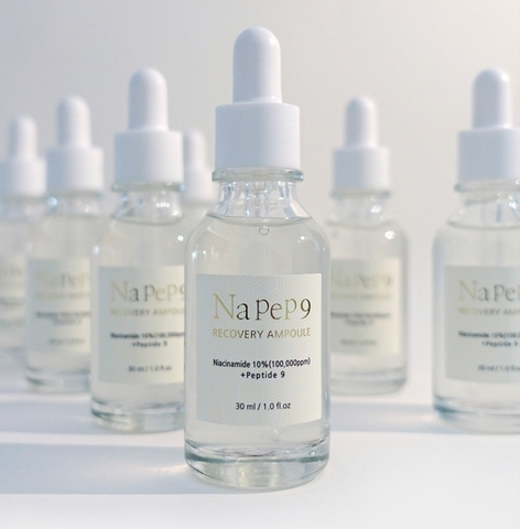 Восстанавливающая сыворотка с 10% ниацинамида и пептидами, 30 мл / 1004 Laboratory NaPep9 Recovery Ampoule