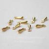 Капелька 7х2,5 мм (цвет - золото), 10 штук