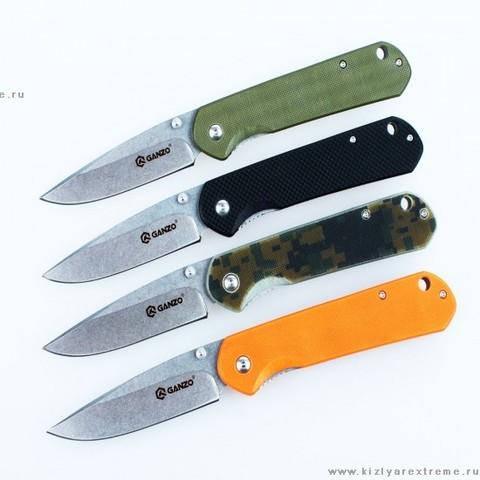 Складной нож Ganzo G6801 Камуфляж