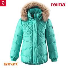 Куртка пуховая Reima Sisko 531158-7510 turquoise