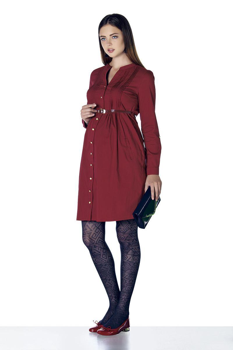 Платье для беременных 07900 красный