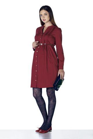 Платье 07900 красный