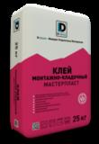Клей монтажный De Luxe Мастерпласт 25кг