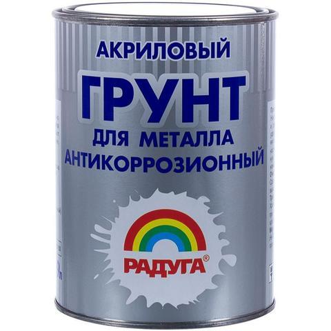 Радуга 0150  грунт по металлу вд-ак 0150 цвет белый объем 0.9л , вес 1.287 кг