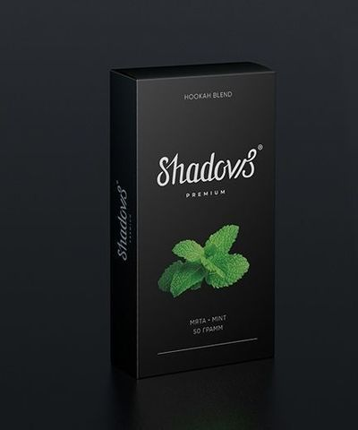 Бестабачная смесь Shadows - Мята
