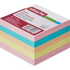 Блок-кубик ATTACHE запасной 9х9х5 разноцветный