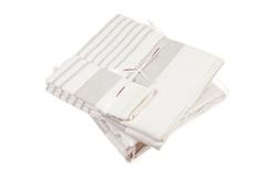 Набор полотенец 3 шт Luxberry SPA 2 белый/льняной
