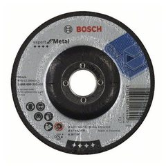 Зачистной круг 125х6х22,23 мм по металлу выпуклый Bosch Expert for Metal