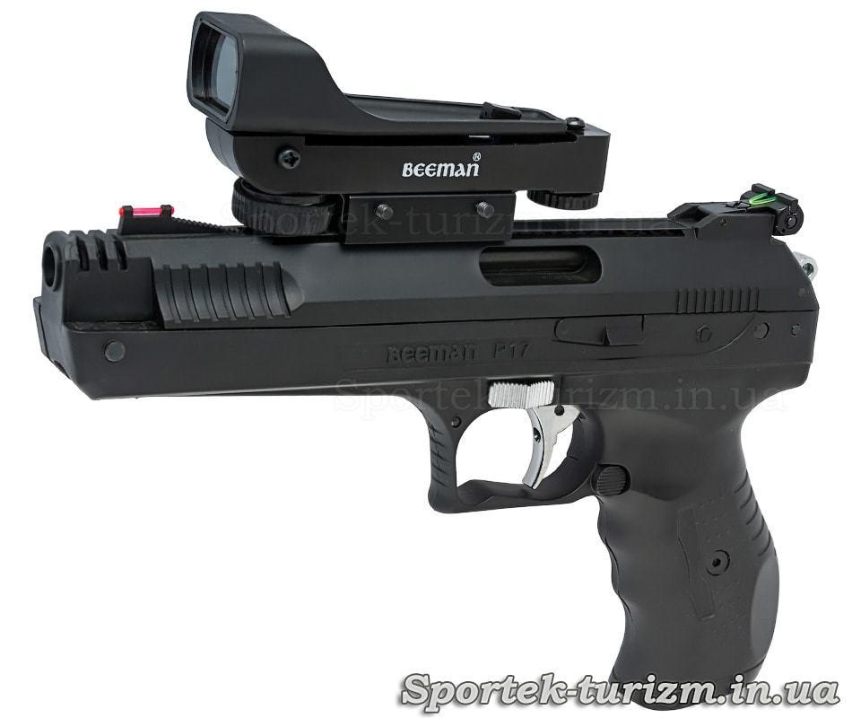 Пистолет пневматический Beeman P17, 4.5 мм (0,177