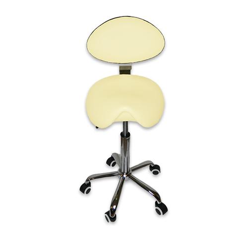Ортопедический стул-седло мастера со спинкой RC1610