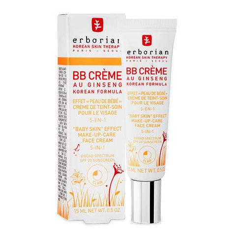 Erborian BB Крем клеар с тонирующим эффектом 5 в 1 BB Cream Clair Baby Skin Effect Makeup-Care Face Cream 5 in 1