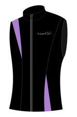 Детский лыжный жилет Nordski Active (NSJ408990) черный-фиолетовый