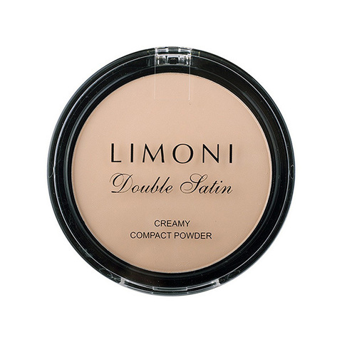 Limoni Пудра компактная 2в1 Double Satin Creamy Compact Powder 10г