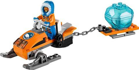 LEGO City: Арктический снегоход 60032 — Arctic Snowmobile — Лего Сити Город