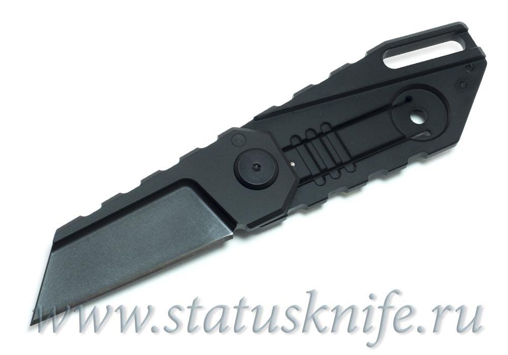 Нож Quartermaster ALF-6 Yoda Black SW Limo Tint