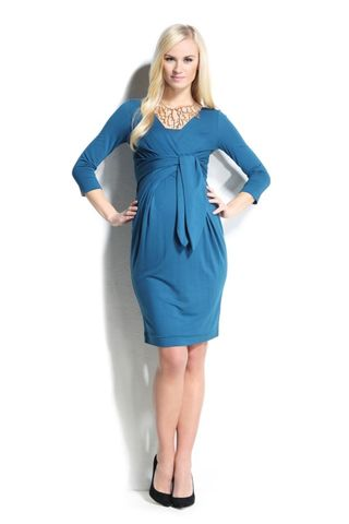 Платье 05407 синий
