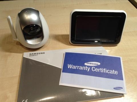 Видеоняня Samsung SEW 3057wp