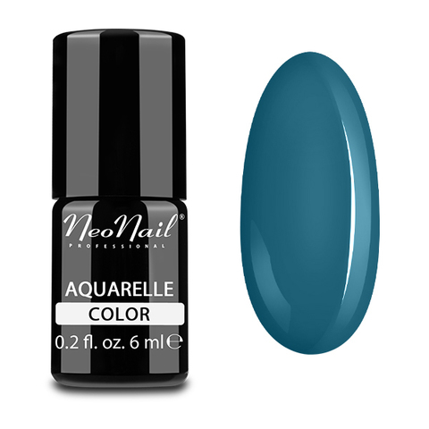 NeoNail Гель-лак акварельный UV 6ml Emerald Aquarelle №5513-1