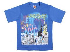 937-7 футболка детская, синяя