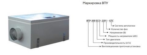 ВПУ 300 ЕС/3 - 220/1 - GTC