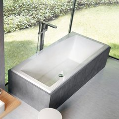 Смеситель для ванны напольный Ravak X070101 фото