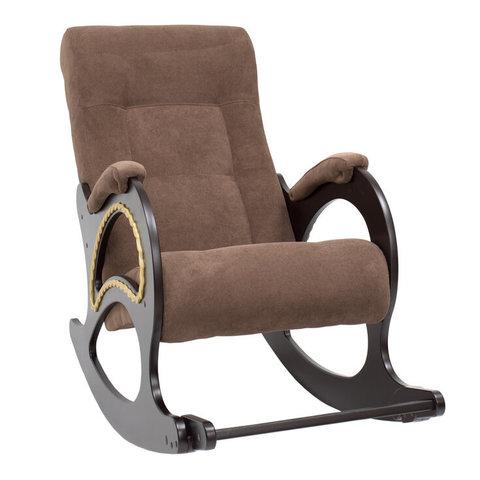Кресло-качалка Комфорт Модель 44 венге/Verona Brown, 013.044
