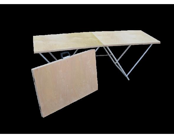 Торговый стол складной Митек 1,8х0,6
