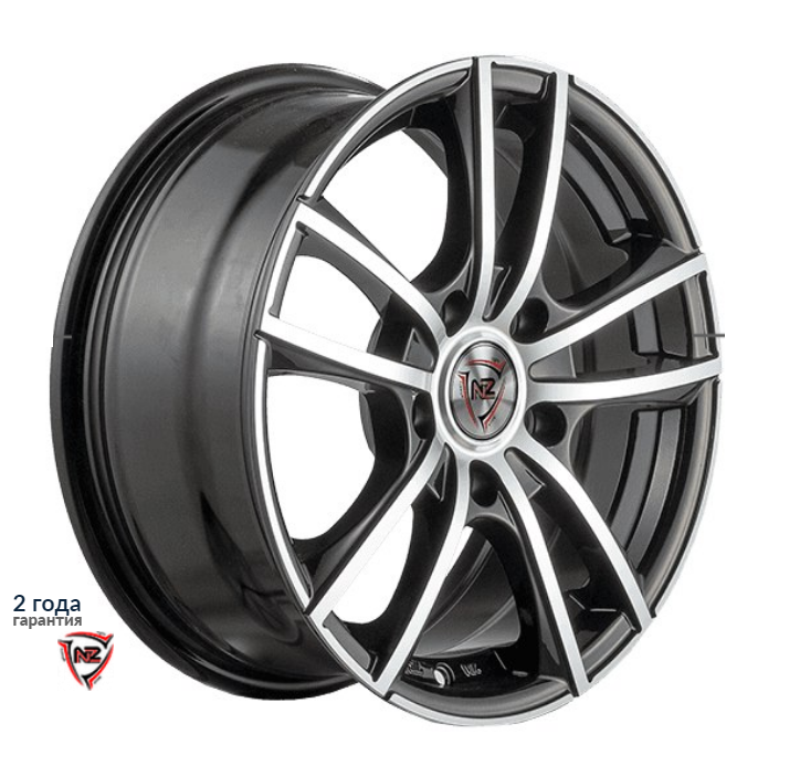 Колесные диски NZ F-20 nz wheels f 7 6 5x16 5x114 3 d60 1 et45 bkf