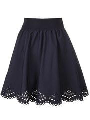 2215-1 юбка детская, темно-синяя