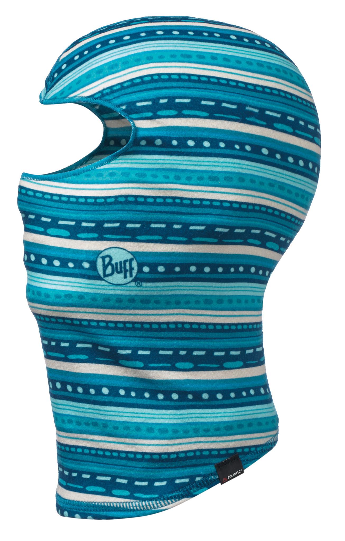 Детские балаклавы и подшлемники Флисовая балаклава Buff Frill Turquoise 115503.789.10.00.jpg