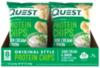Quest Nutrition Protein Chips Sour Cream & Onion (8шт) 32гр Протеиновые Чипсы Сметана-Зеленый Лук