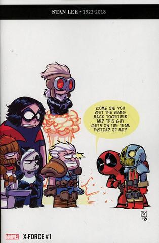 X-Force #1 (Variant Cover by Skottie Young)  (Stan Lee Tribute)