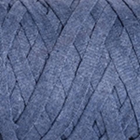 Ленточная пряжа YarnArt Ribbon цвет 761 джинс