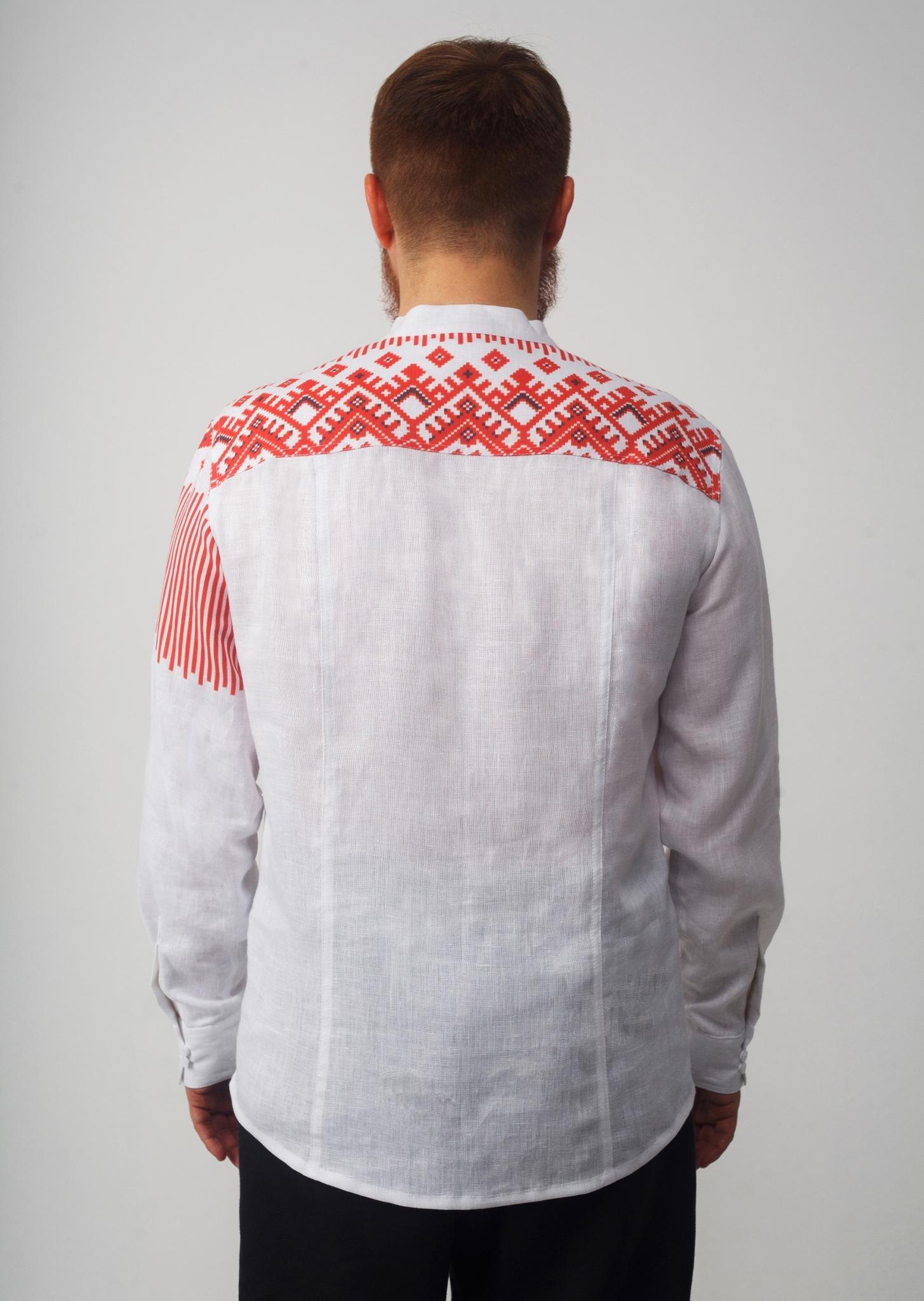 Рубашка мужская Русская вид сади