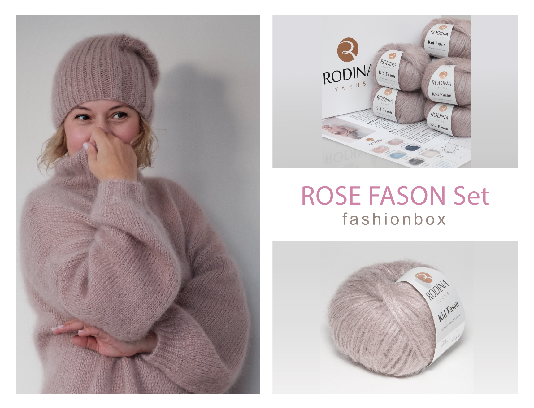 ROSE FASON Set Fashionbox