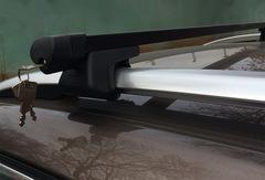 Багажник на рейлинг V-STAR, 130 см (алюминиевый с замком) (B4330)