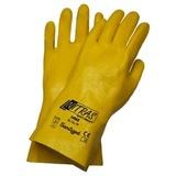 Перчатки трикотажные с облегченным нитриловым покрытием, манжета, полуобливные Premium (Nitras)