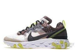 Кроссовки Мужские Nike React Element 87 Brown-green