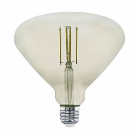 Лампа LED филаментная диммир. дымчатого цвета Eglo MID SIZE LM-LED-E27 4W 360Lm 3000K BR150 11841