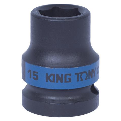 KING TONY (453515M) Головка торцевая ударная шестигранная 1/2