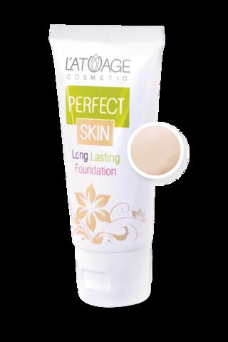 L'atuage Perfect skin Тональный крем тон №101